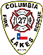 Columbia Lakes VFD Stan Wiggins - Fire Chief and Logo designer and originator Stayk Industries, Inc. copywrited