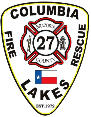 Columbia Lakes VFD Stan Wiggins - Fire Chief and Logo designer and originator Stayk Industries, Inc. ©2018